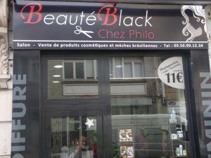 BEAUTE BLACK chez philo
