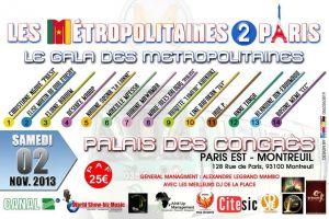 LES METROPOLITAINES DE PARIS