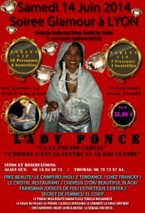 LADY PONCE LYON SAMEDI 14 JUIN 2014