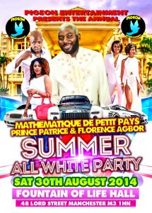 Summer all white party..part2.the short edition