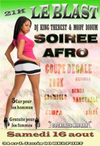 SOIREE AFRO