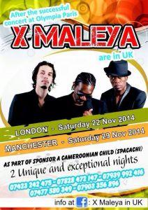 LES X-MALEYA EN UK