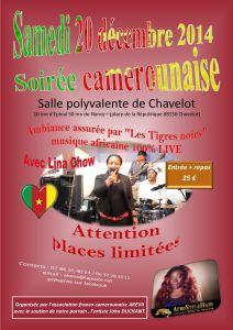 Repas dansant aux couleurs du Cameroun