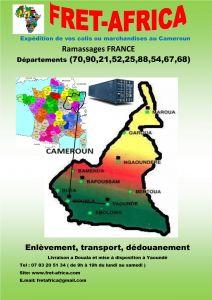 FRETAFRICA envoi de vos colis et matériel au Cameroun