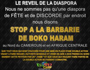 STOP A BOKO HARAM