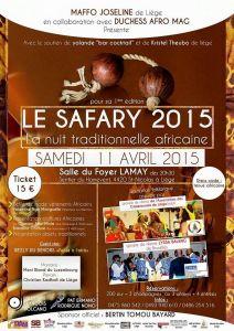 LE SAFARY 2015