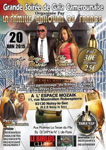 Grande soirée de gala Camerounaise