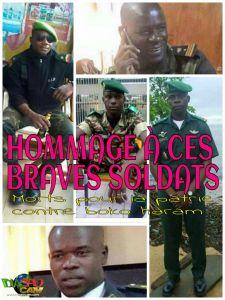 HOMMAGE À NOS SOLDATS MORTS