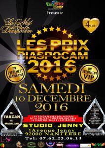 LES PRIX DIASPOCAM 2016