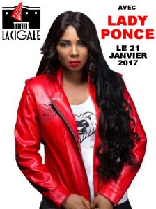LADY PONCE A LA CIGALE