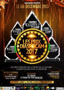 Les prix diaspoCam 2017