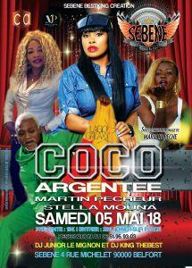 La Grande NUIT CAMEROUNAISE AVEC COCO ARGENTEE