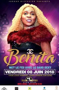 "BENITA ET ""LE GARS SEXY"" AU BLUE NOTES"