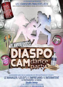 DIASPOCAM DANCE PARTY 2020