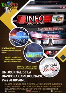 INFO DIASPOCAM: LE JOURNAL DE LA DIASPORA