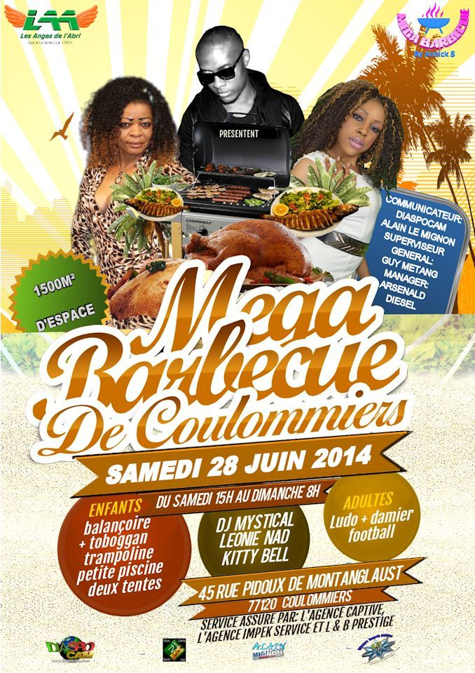 Le mega barbecue de coulommiers evenement diaspora - Le barbecue nice ...