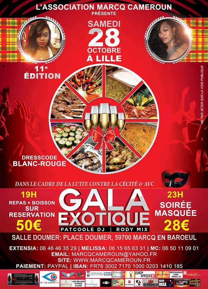 la nuit de la gastronomie exotique evenement diaspora camerounaise. Black Bedroom Furniture Sets. Home Design Ideas