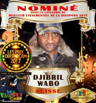 NOMINEE: DJIBRIL WABO