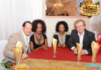 Le couple Akamba venu de Suisse et leur amis